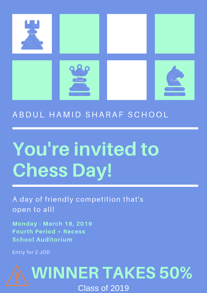 Spirit Week Activity 1: Chess Competition