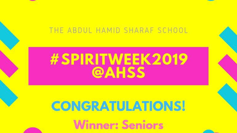 #SPIRITWEEK2019-Winner