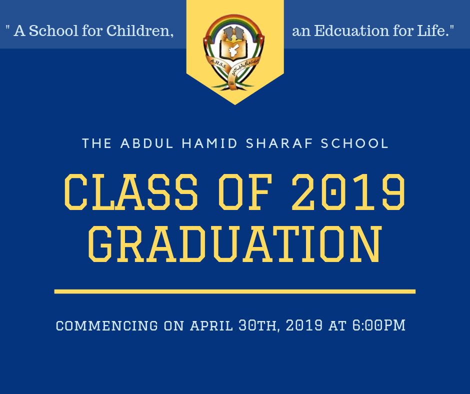 Graduation Day – Class of 2019